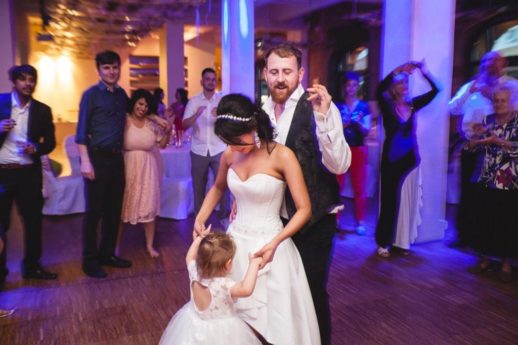 Hochzeitsfeier in Spreespeicher