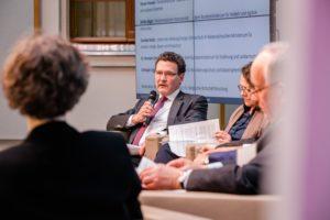 Konferenz Paneldiskussion
