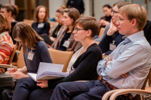 Publikum in Konferenz