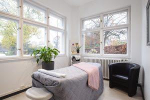 Interieuraufnahme Kosmetikstudio in Berlin Tegel