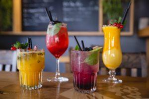 Cocktails in Berliner Restaurant