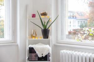 Detailfoto Interieur Kosmetikstudio in Berlin Tegel