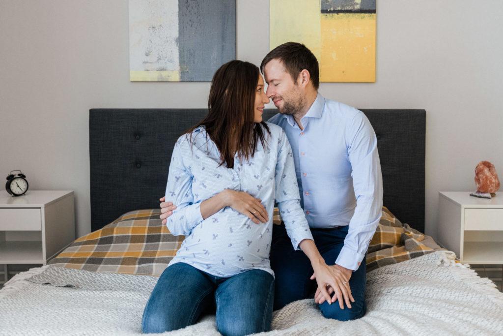 Familienfotografie Babybauch